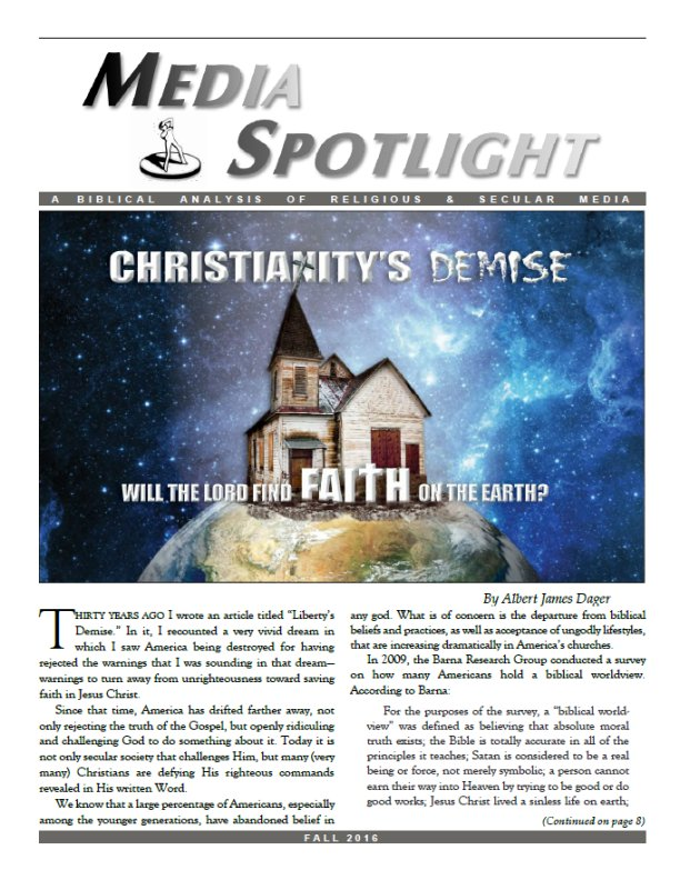 Media Spotlight Volume 39 No 3