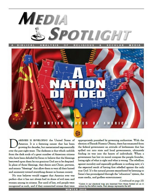 Media Spotlight Volume 39 No 4